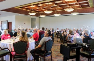 Saturday Luncheon at the Rogue Valley Manor