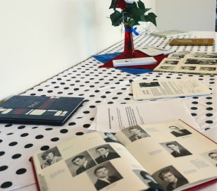 Yearbooks on Display at the Rogue Valley Manor Luncheon