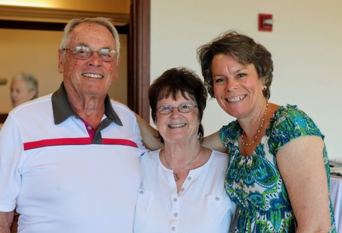 Bob & Sherry Cessnun with Fundraising Chair Polly Fowler-Farrimond (82)